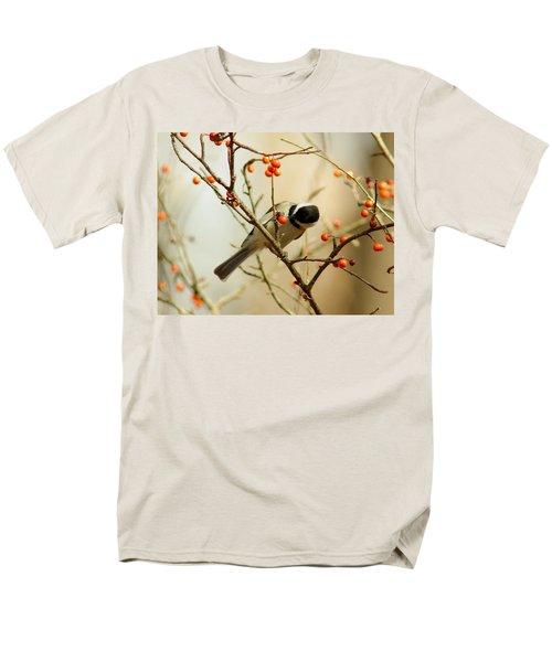 Chickadee 1 Of 2 Men's T-Shirt  (Regular Fit) by Robert Frederick