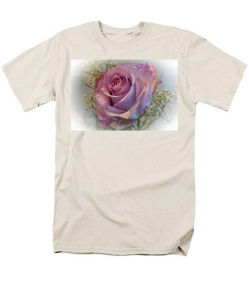 Cindy's Rose Men's T-Shirt  (Regular Fit) by Judy Johnson