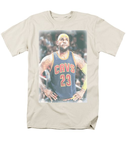 Cleveland Cavaliers Lebron James 5 Men's T-Shirt  (Regular Fit) by Joe Hamilton