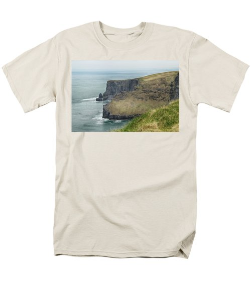 Men's T-Shirt  (Regular Fit) featuring the photograph Cliffs Of Moher 1 by Marie Leslie