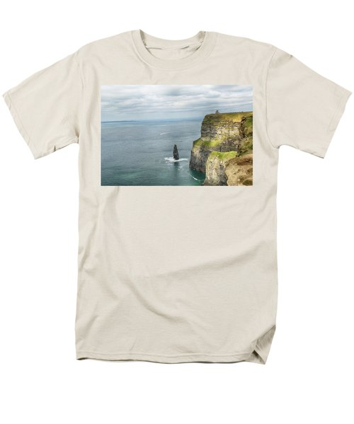 Men's T-Shirt  (Regular Fit) featuring the photograph Cliffs Of Moher 3 by Marie Leslie