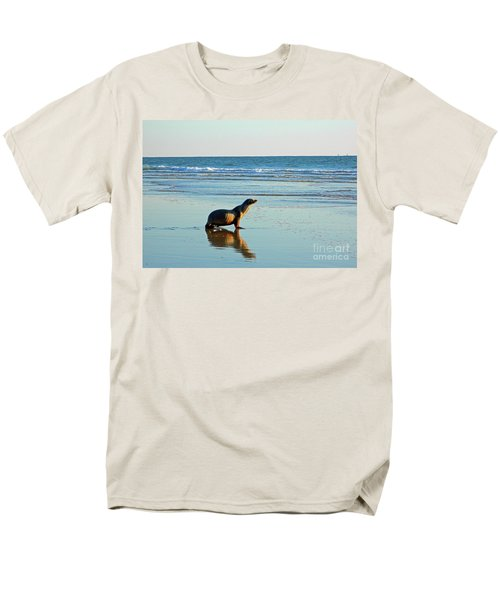 Men's T-Shirt  (Regular Fit) featuring the photograph Coastal Friends by Everette McMahan jr