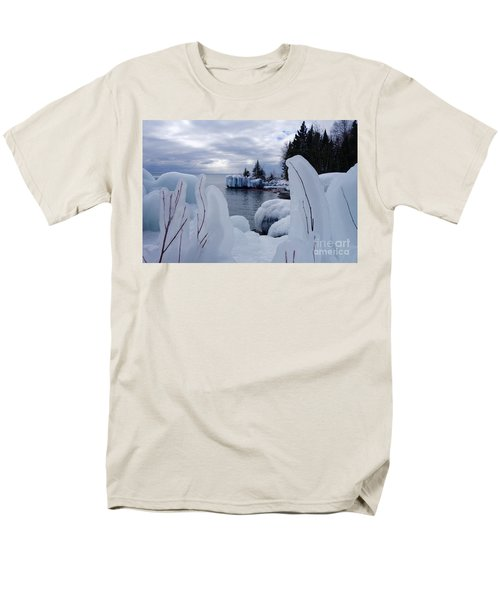 Coated With Ice Men's T-Shirt  (Regular Fit) by Sandra Updyke