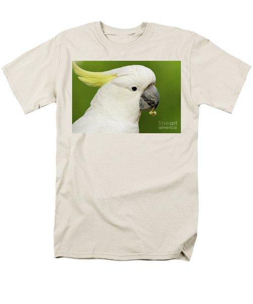 Cockatoo Close Up Men's T-Shirt  (Regular Fit) by Craig Dingle