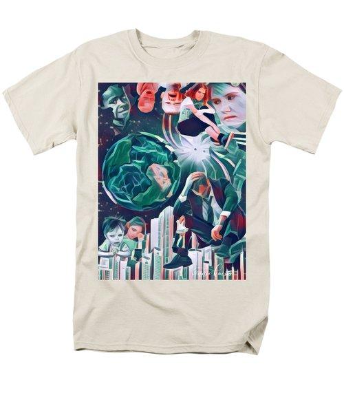 Cognitive Dissonance Men's T-Shirt  (Regular Fit) by Vennie Kocsis