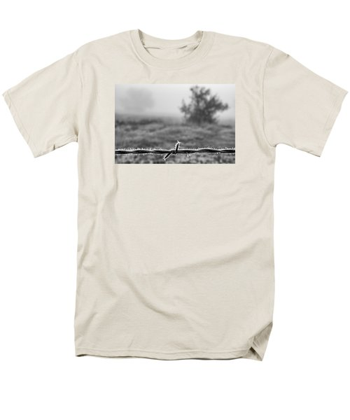 Men's T-Shirt  (Regular Fit) featuring the photograph Cold Frosty Morning by Monte Stevens