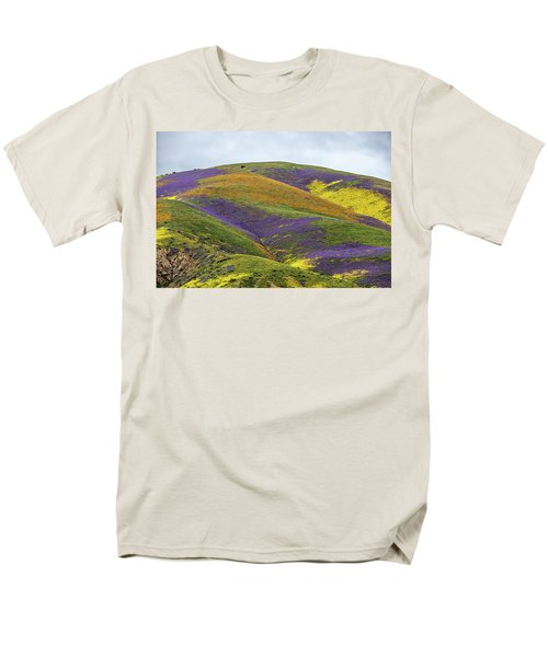 Men's T-Shirt  (Regular Fit) featuring the photograph Color Mountain I by Peter Tellone