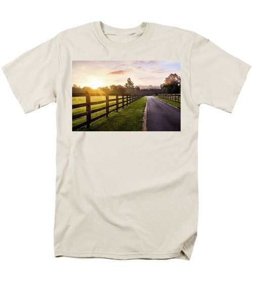 Men's T-Shirt  (Regular Fit) featuring the photograph Colorful Palette At Sunrise by Shelby Young