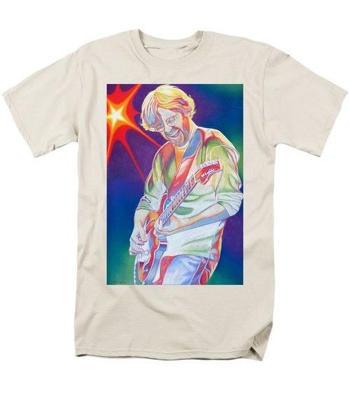 Colorful Trey Anastasio Men's T-Shirt  (Regular Fit) by Joshua Morton