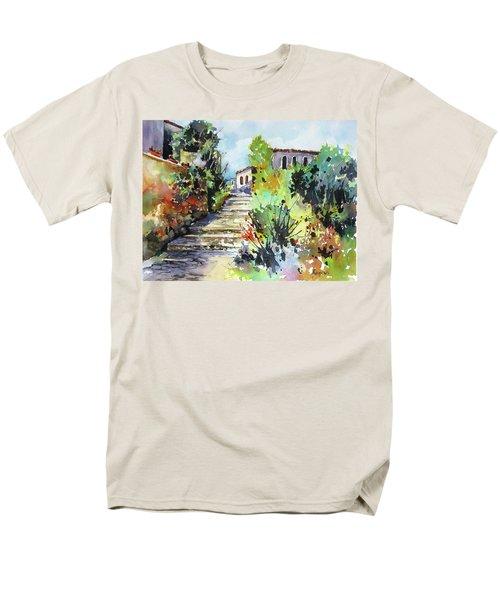 Colors Of Spain Men's T-Shirt  (Regular Fit) by Rae Andrews