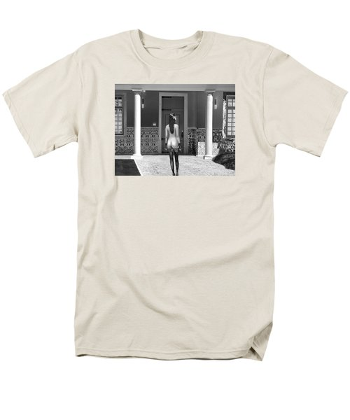 Columns Men's T-Shirt  (Regular Fit) by Emada Photos