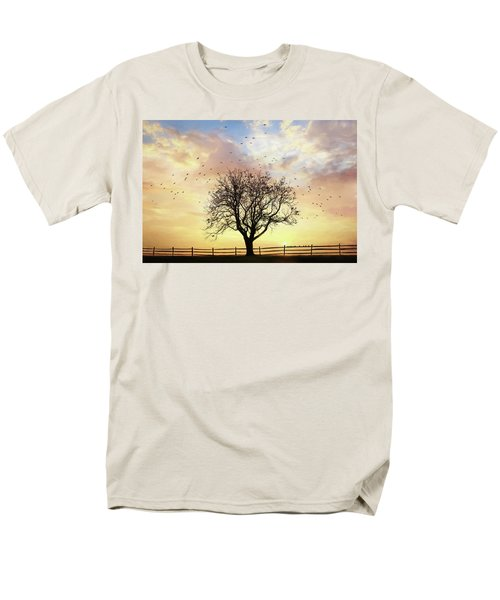 Men's T-Shirt  (Regular Fit) featuring the photograph Come Fly Away by Lori Deiter