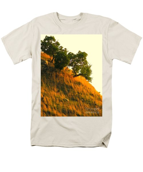 Men's T-Shirt  (Regular Fit) featuring the photograph Coming Home Again by Joe Jake Pratt