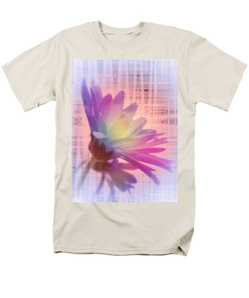 Coming To Life Love Notes Mirror Men's T-Shirt  (Regular Fit) by Cathy  Beharriell