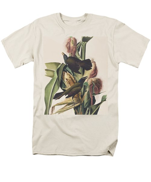 Common Crow Men's T-Shirt  (Regular Fit) by John James Audubon