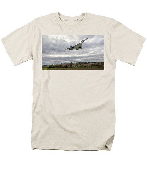 Concorde - High Speed Pass_2 Men's T-Shirt  (Regular Fit) by Paul Gulliver