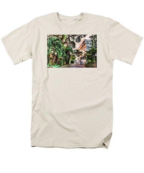 Concrete Jungle Men's T-Shirt  (Regular Fit) by Nadia Sanowar