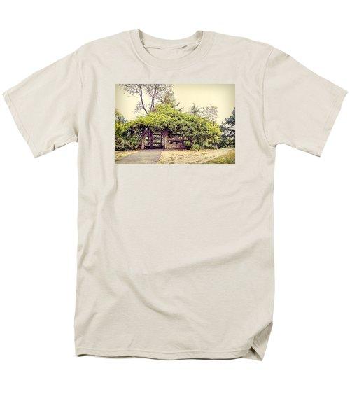 Cop Cot - Central Park Men's T-Shirt  (Regular Fit) by Paulette B Wright