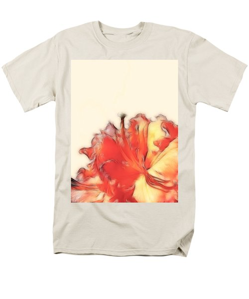 Coral Rhododendron Men's T-Shirt  (Regular Fit)