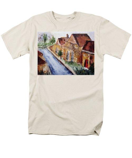 Cotswold Street Men's T-Shirt  (Regular Fit) by Roxy Rich