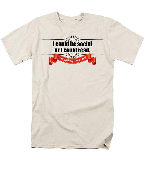 Could Be Social Men's T-Shirt  (Regular Fit) by Michelle Murphy