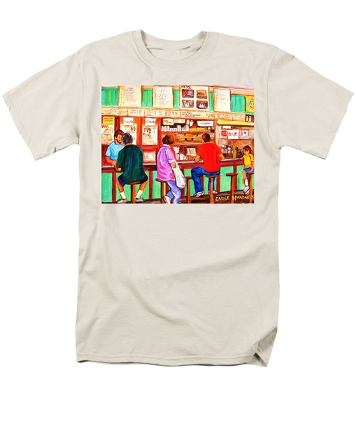 Men's T-Shirt  (Regular Fit) featuring the painting Counter Culture by Carole Spandau