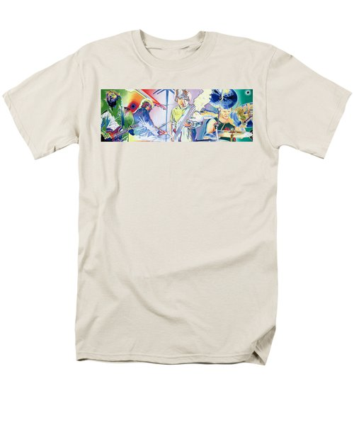 Men's T-Shirt  (Regular Fit) featuring the drawing Coventry Phish by Joshua Morton