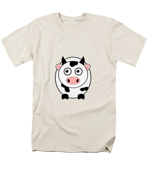 Cow - Animals - Art For Kids Men's T-Shirt  (Regular Fit) by Anastasiya Malakhova
