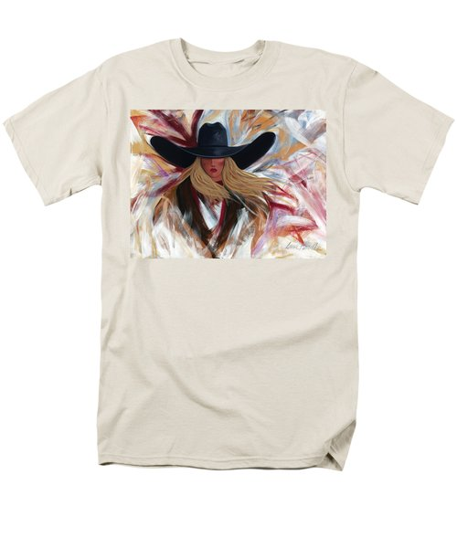 Cowgirl Colors Men's T-Shirt  (Regular Fit) by Lance Headlee