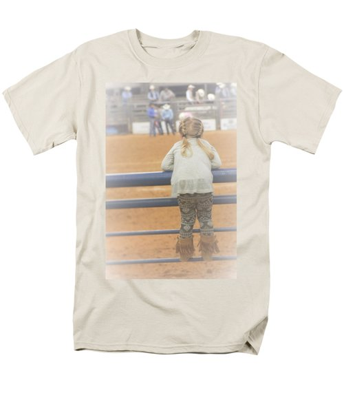 Men's T-Shirt  (Regular Fit) featuring the photograph Cowgirl Hatchling by John Glass