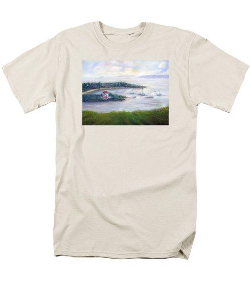 Cruz Bay Remembered Men's T-Shirt  (Regular Fit) by Loretta Luglio