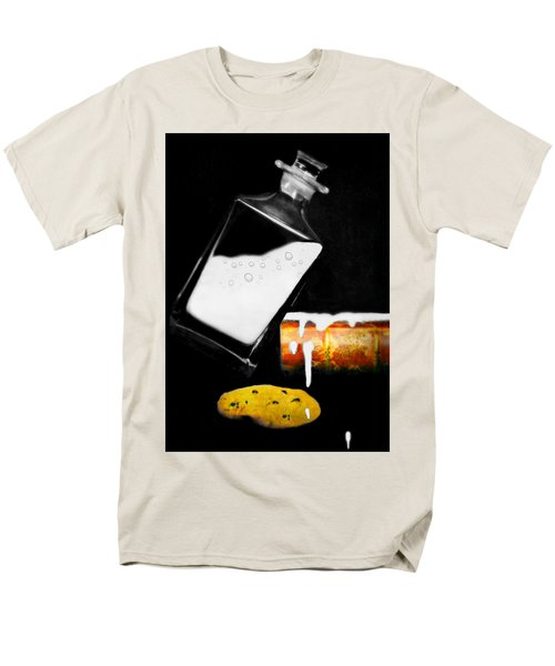 Men's T-Shirt  (Regular Fit) featuring the photograph Crying Over Spilled Milk by Diana Angstadt