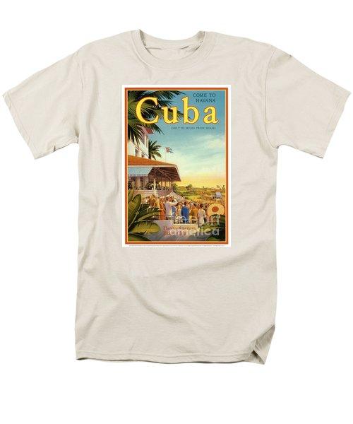 Cuba-come To Havana Men's T-Shirt  (Regular Fit) by Nostalgic Prints