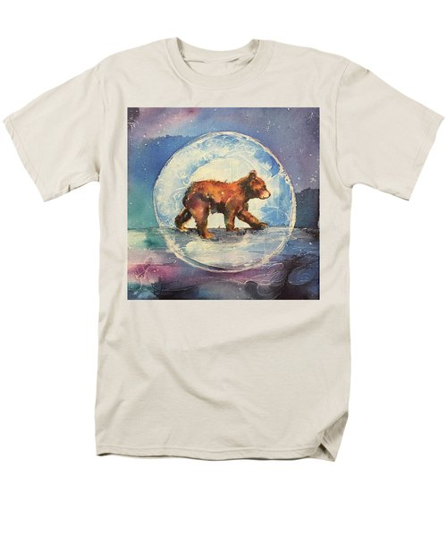 Men's T-Shirt  (Regular Fit) featuring the painting Cubbie Bear by Christy Freeman