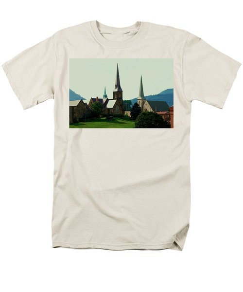 Cumberands Steeples Men's T-Shirt  (Regular Fit) by Eric Liller