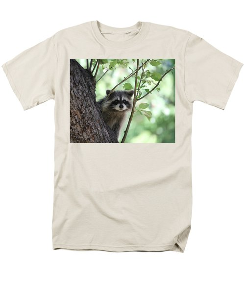 Men's T-Shirt  (Regular Fit) featuring the photograph Curious But Cautious by Doris Potter