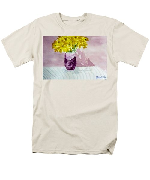 Men's T-Shirt  (Regular Fit) featuring the painting Daffs by Jamie Frier