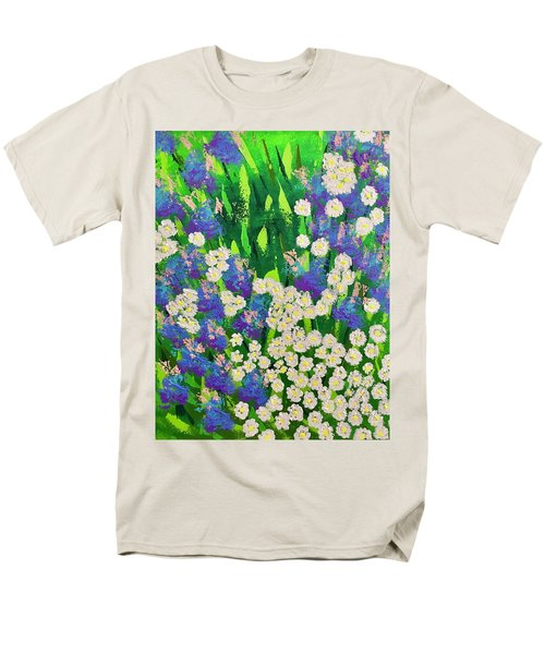 Daisy And Glads Men's T-Shirt  (Regular Fit) by George Riney