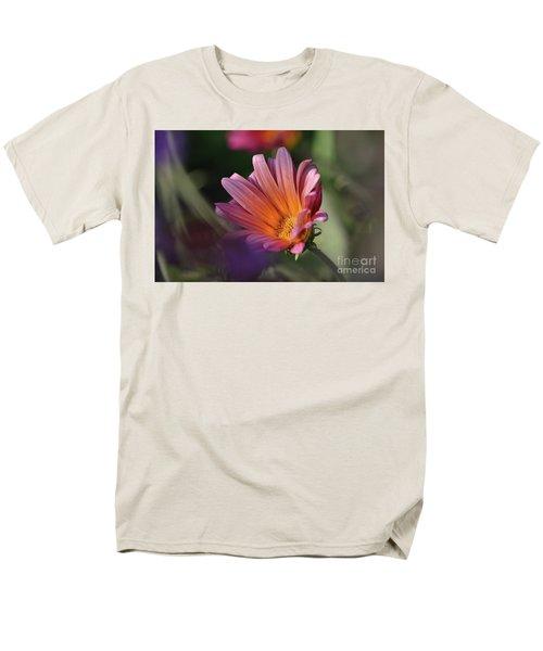 Men's T-Shirt  (Regular Fit) featuring the photograph Daisy At Dusk by Debby Pueschel