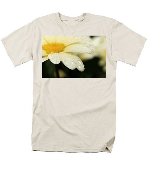 Men's T-Shirt  (Regular Fit) featuring the photograph Daisy In Spring by Angela Rath