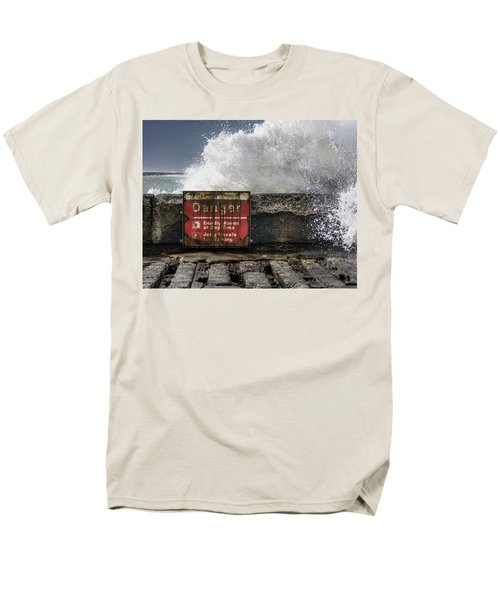 Danger Men's T-Shirt  (Regular Fit) by Greg Nyquist