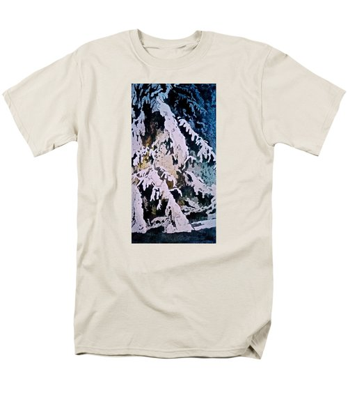 Men's T-Shirt  (Regular Fit) featuring the painting Dark Cover by Carolyn Rosenberger