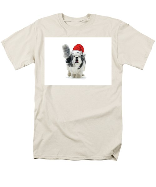 Dashing Through The Snow Men's T-Shirt  (Regular Fit) by Keith Armstrong
