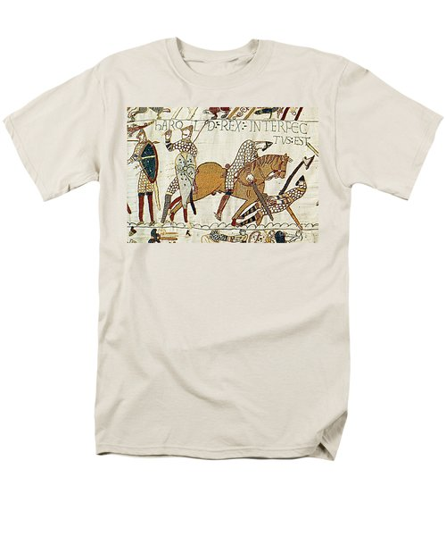 Death Of Harold, Bayeux Tapestry Men's T-Shirt  (Regular Fit)
