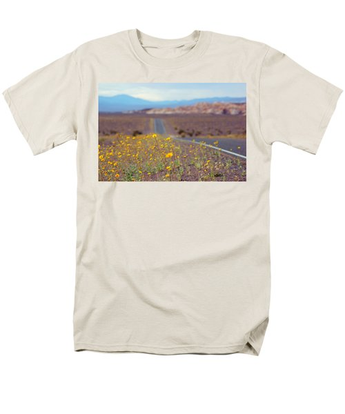 Death Valley Superbloom 101 Men's T-Shirt  (Regular Fit) by Daniel Woodrum