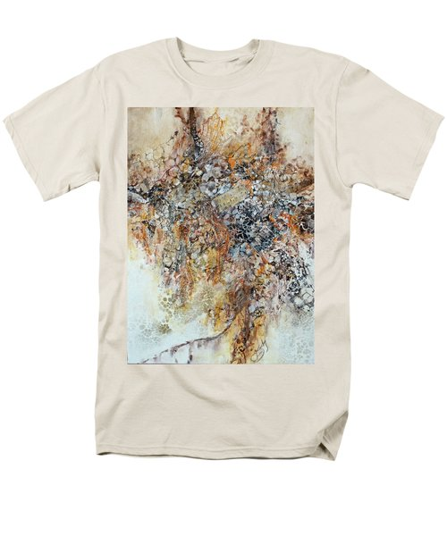Men's T-Shirt  (Regular Fit) featuring the painting Decomposition  by Joanne Smoley