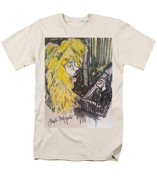 Def Leppard Love Bites Men's T-Shirt  (Regular Fit) by Geraldine Myszenski