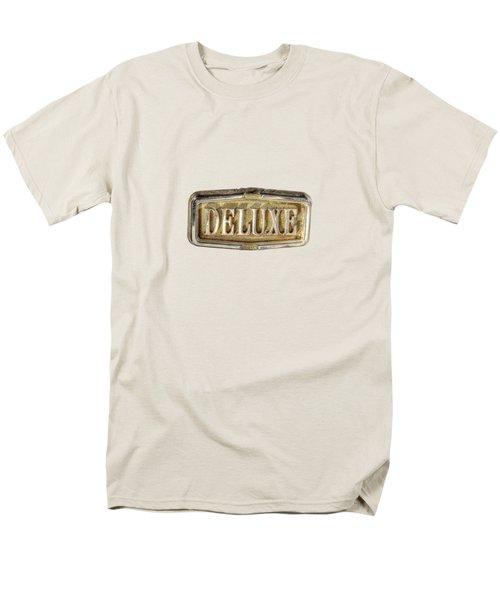 Deluxe Chrome Emblem Men's T-Shirt  (Regular Fit)