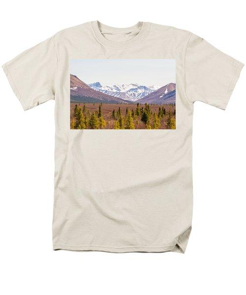 Denali Wilderness Beauty Men's T-Shirt  (Regular Fit) by Allan Levin