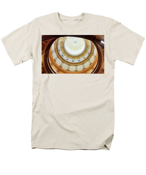 Men's T-Shirt  (Regular Fit) featuring the photograph Denver Capitol Dome 1 by Marilyn Hunt